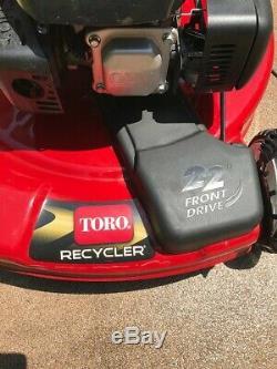 Toro 22 High-Wheel, Variable Speed, Walk-Behind, Self-Propelled Gas Lawn Mower