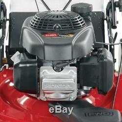 Toro 22 in High Wheel Variable Speed Gas Walk Behind Self Propelled Lawn Mower