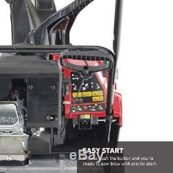 Toro Electric Start Gas Snow Blower Power Clear Single-Stage Self Propelled