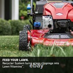 Toro High-Wheel Drive Gas Walk Behind Self Propelled Lawn Mower Recycler