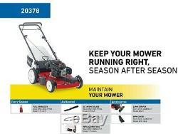 Toro Kohler High Wheel Variable Speed Gas Walk Behind Self Propelled Lawn Mower