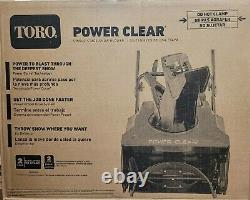 Toro Power Clear 821 QZE 21in. 252cc Single-Stage Self Propelled Gas Snow Blower