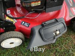 Toro Recycler Pace Self Propelled Gas Walk-Behind Lawn Mower Electric Start Used
