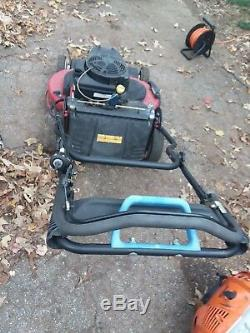 Toro Self Propelled Lawn Mower TimeMaster 30 Walk Behind Electric Start Gas