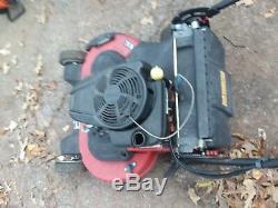 Toro Self Propelled Lawn Mower TimeMaster 30 Walk Behind Electric Start Gas