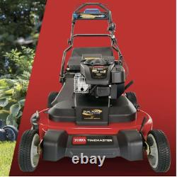 Toro Timemaster Lawn Mower 30 in. Self-propelled gas bagger and electric start