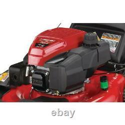 TroyBilt 21 Inch Walk Behind Self Propelled Lawn Mower 3 In 1 Triaction Cutting