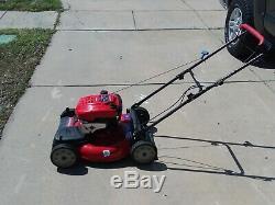 Troy-Bilt 21 self propelled push mower