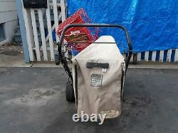 Troy-Bilt 8hp self propelled heavy duty Chipper/Vac, Gardenway Co mint condition