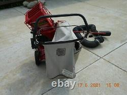 Troy Bilt Chipper Shredder Vacuum Self Propelled With New Parts