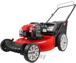 Troy-Bilt Gas Lawn Mower 21 in. 2-in-1 Briggs and Stratton Walk Behind Push