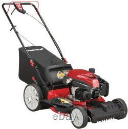 Troy-Bilt Gas Lawn Mower 21 in. Self Propelled 3-in-1 TriAction Cutting System