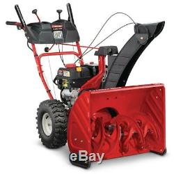 Troy-Bilt Gas Snow Blower 26 in 243 cc 2 Stage with Electric Start Self Propelled