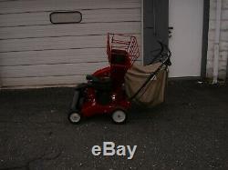 Troy Bilt Model # 47282 5 Hp Self Propelled Chipper Vac