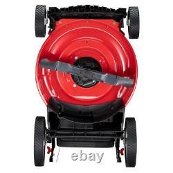 Troy-Bilt Push Lawn Mower 140 cc Engine Adjustable Cutting Height Gas Powered