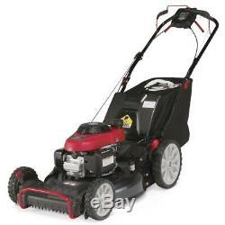 Troy-Bilt Self Propelled Lawn Mower 21 in. 190 cc 4 Wheel Drive 6-Position