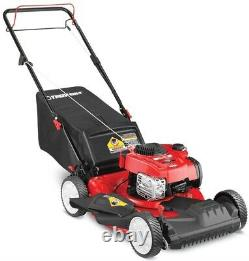 Troy-Bilt TB200 150-cc 21-in Self-propelled Gas Lawn Mower with Briggs & Stratto