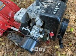 Troy Bilt Tuffy Self-Propelled Garden Rototiller M12217 New Carburetor runs TLC