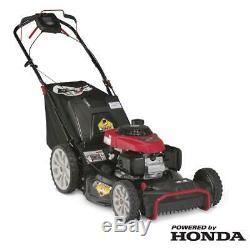 Troy-Bilt Walk Behind Self Propelled Lawn Mower 21 in. With High Rear Wheels