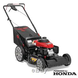 Troy-Bilt XP 21 in. 160 cc Honda Gas Walk Behind Self Propelled Lawn Mower 3in1