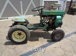 Vintage 1959 Bolens 230 Ride A Matic Lawn & Garden Tractor