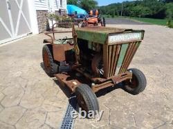 Vintage Pennsylvania Panzer Meteor 1107 Garden Tractor. Runs & Drives