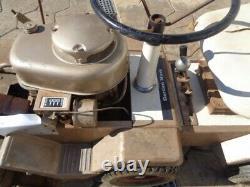 Vintage Wards Garden Mark Lawn Trac Model ZYJ-70A. 6 HP. Rear Steer