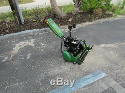 Walk Type Professional Reel Mower John Deere 220C Golf Greens self propelled