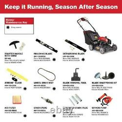 XP 21 in. 159 cc Gas Walk Behind Self Propelled Lawn Mower with Check Don't