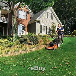 Yard Force 22'' Self-Propelled 3N1 Mower with Briggs and Stratton 163cc Engine
