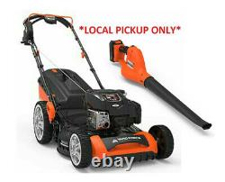 Yard Force YF22ESSPV Briggs and Stratton 675 EXi Lawn Mower and Blower Combo