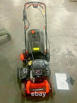 Yard Force YF22ESSPV Briggs and Stratton 675 EXi Walk Behind Lawn Mower