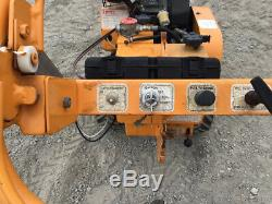 2010 Brosse Bandit Hb20sp Gas Autopropulsés Walk Behind Stump Grinder 100h