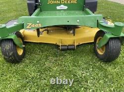 2012 John Deere Eztrak Z445 Zero Turn54 Deck27hp Briggs298 Heures