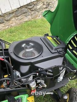 2012 John Deere X500 Tondeuse De Pelouse 25hp Kawasaki Twin Engine 54 Deck