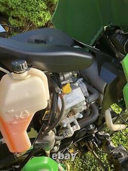 2016 John Deere X738 4wd Tondeuse Tracteur 54 Deck Kawasaki 25hp Twin Engine