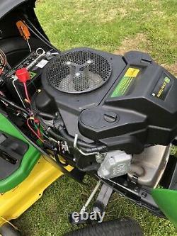2018 John Deere S240 48 Tracteur Tondeuse À Gazon Kawasaki 18hp Twin Engine-low Hours