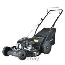 22 In. 3-en-1 170 CC Gas Self Propelled Walk Behind Lawn Mower