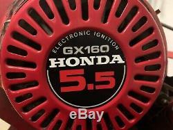 27 Tru-cut Nacelle Automotrice Tondeuse Withfront Rouleau & Honda Gx160 5.5 HP Moteur