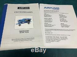 Airplaco Pumpmaster Pg-25 Autopropulsé Béton Slabjacking / Grout Pompe
