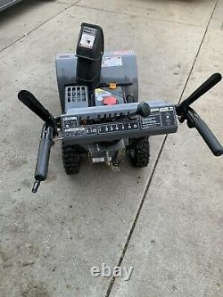 Artisan 24 Souffleuse À 2 Étages Démarreur Électrique Autopropulsés Works Bonne