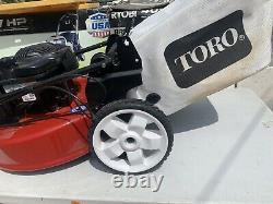 Autopropulsed Mower Marcher Derrière Le Recyclage À Gaz 22 Haute Roue Variable Vitesse 150c