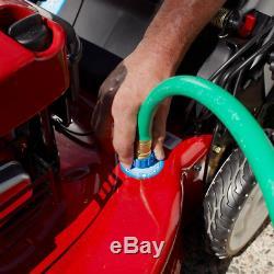 Autotractée Mower 22 À Vitesse Variable Démarreur Électrique Automotrice Gaz Recycleur