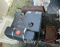 Bolens G11 1155 Tracteur De Jardin, Rainbow Edition (rare) Tube Frame Tondeuse / Tracteur