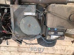 Bolens Ht-23 Tracteur W Tiller & Mower Deck Wheel Weights Large Frame