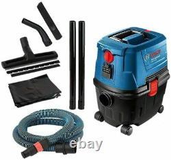 Bosch Gas 15 Ps Aspirateur D'eau Et De Poussière 1100 W, 270 Mbar 53 L / Sec