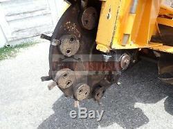 Carlton 2500-4 Autopropulsés Stump Grinder, Kohler 27hp Gaz, 937 Heures, Du Commerce Local