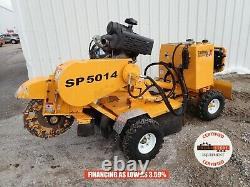 Carlton Sp5014 Stummp Grinder 2019, Automoteur, 397 Hrs, 35 HP Gas, 1 Propriétaire