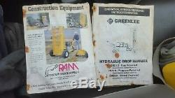 Chute Hydraulique Marteau Briseur Autopropulsés Will Do 12 De Béton Sur Remorque