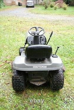 Craftsman Lt1000 Tondeur D'équitation 16 HP 42 Utilisé